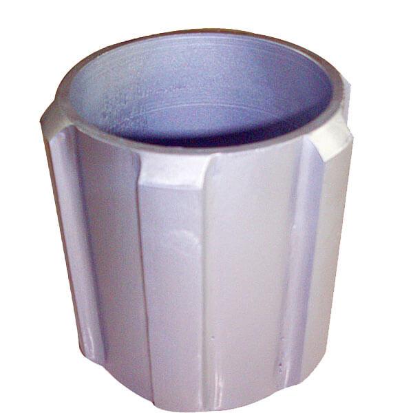 Solid Aluminum Pipe : Solid rigid centralizer aluminum