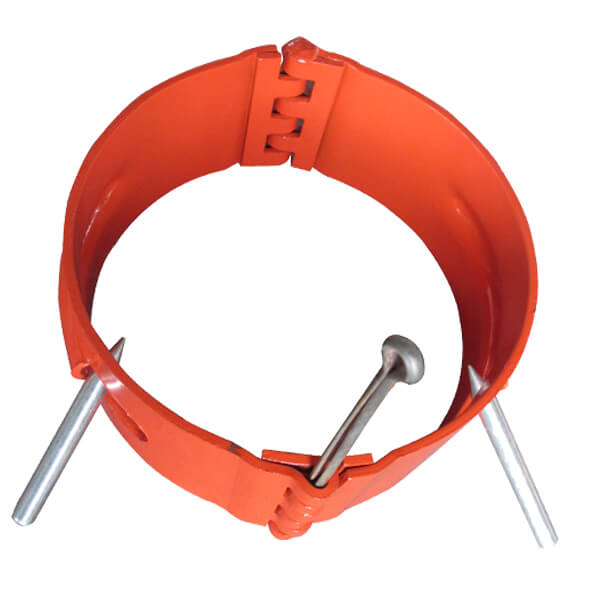 Hinged Stop Collar with Spiral Nails